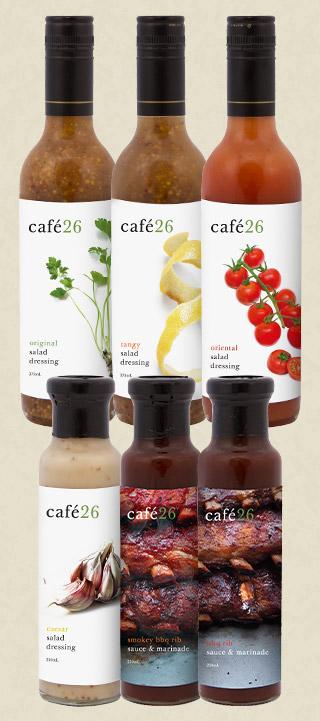 cafe26 bottles